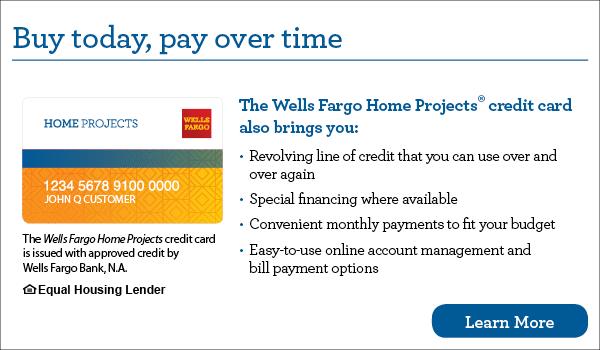 Finance with Wells Fargo